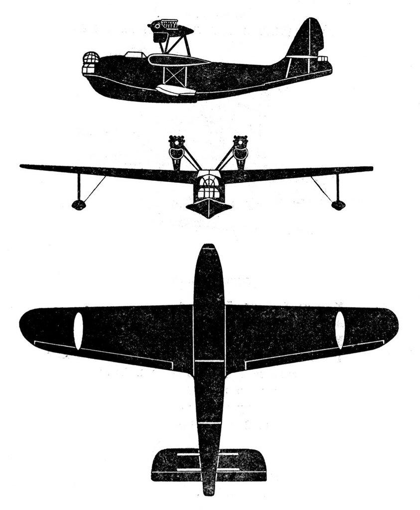 Силуэты итальянских самолетов (1939) 059