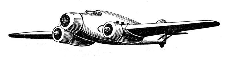 Силуэты итальянских самолетов (1939) 068