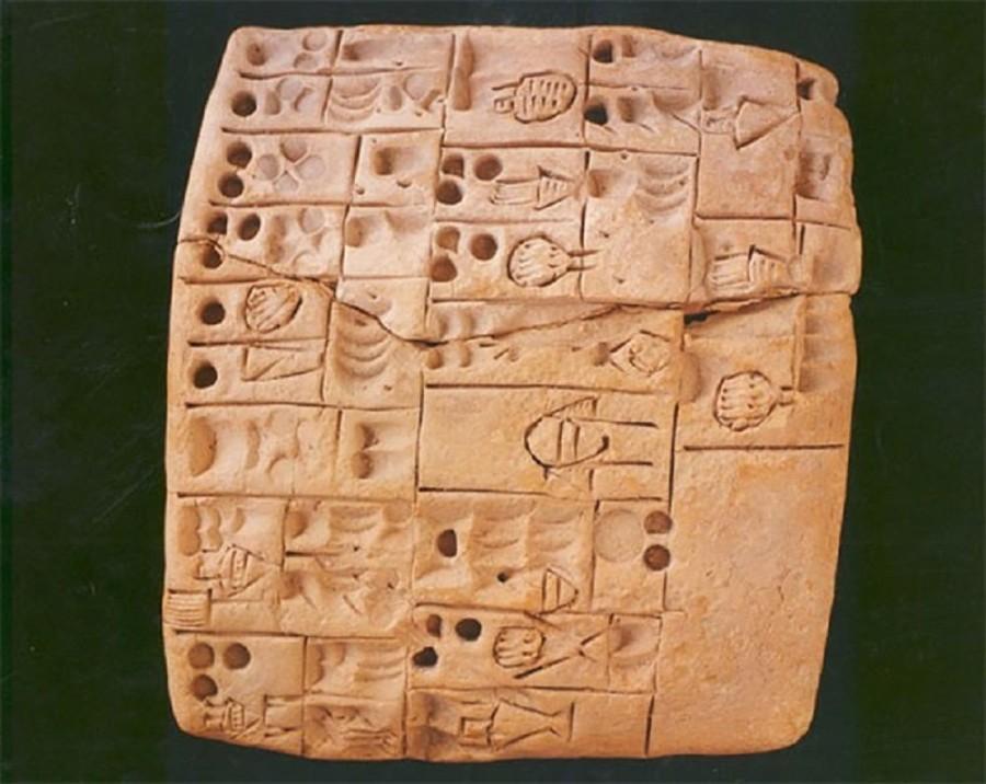 2. Самый древний записанный рецепт Как ни странно, но на возрасте таблицы, возраст которой насчитыва