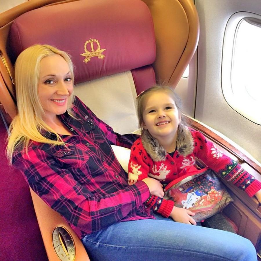 20.Кристина Орбакайте отправилась в Майами, чтобы отпраздновать День рожденья дочери Дочь Кристины