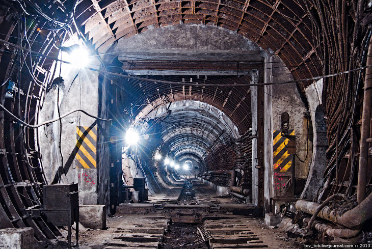 Фотографии и текст Олега Тоцкого   1. Наиболее интересными, имхо, всегда были тоннельные зат