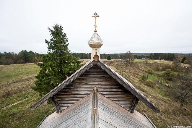 Часовня Иоанна Богослова XVIII века.