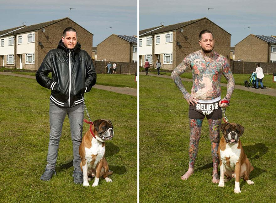 2. Питер, 39 лет, Колчестер. «Татуировки придавали мне уверенности в себе, когда я серьезно болел».