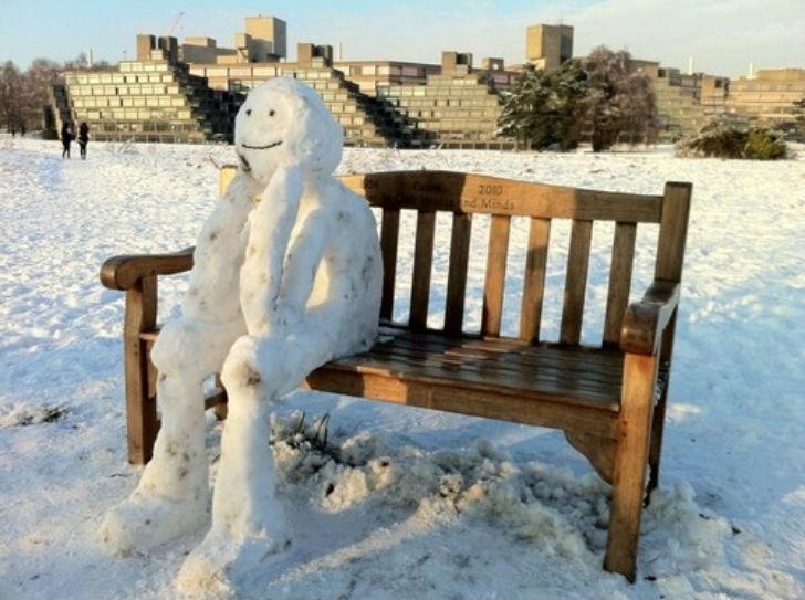 Как слепить самого крутого снеговика, чтобы вам вся улица завидовала