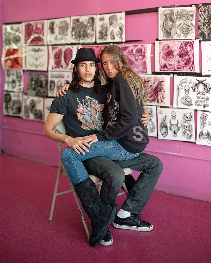 Кибс и Бет, Лас-Вегас, Невада, 2012. Я понял, что меня интересует фотография, еще будучи старшекласс