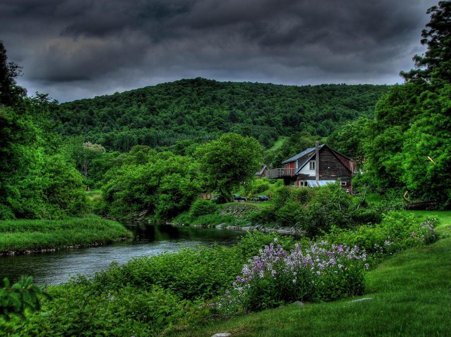 17. Идеальное место, для любителей уединения, Вермонт, США.