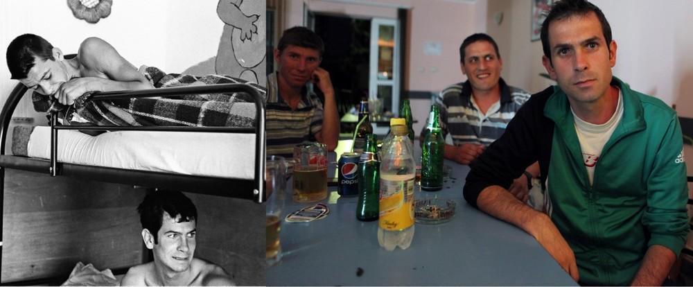 В 1997 году Мариану Жувердяну было 16 лет. Второе фото было сделано в баре в селе Поприкани, где про