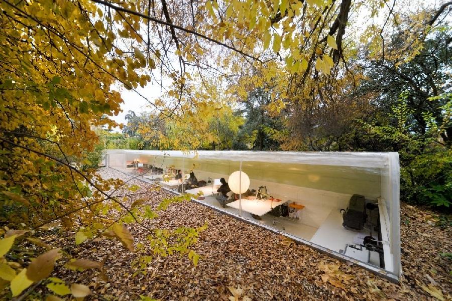 9. Испанское агенство Selgas Cano Architecture Необычное рабочее пространство испанского агенства Se