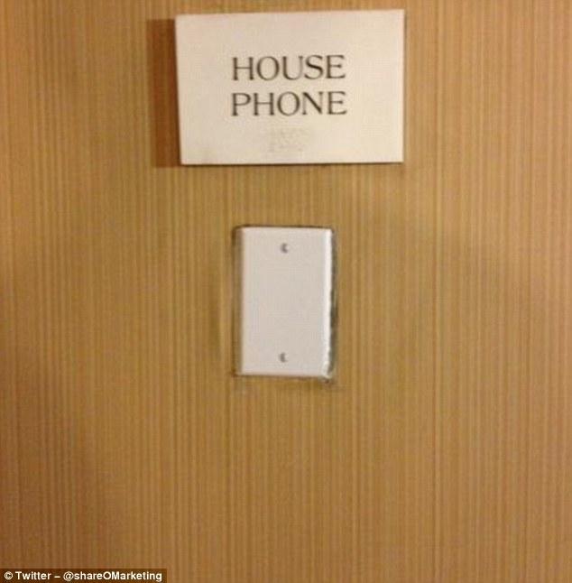 Городской телефон. Которого, в общем-то, нет.