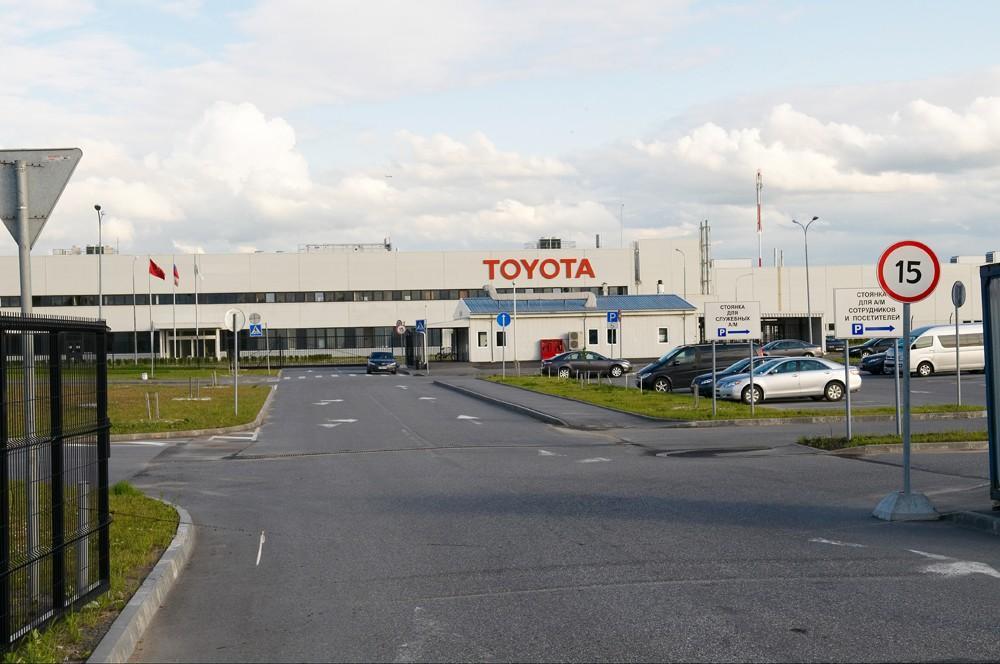 9. В апреле 2005 года Toyota начала строительство автозавода в Шушарах в Ленобласти.