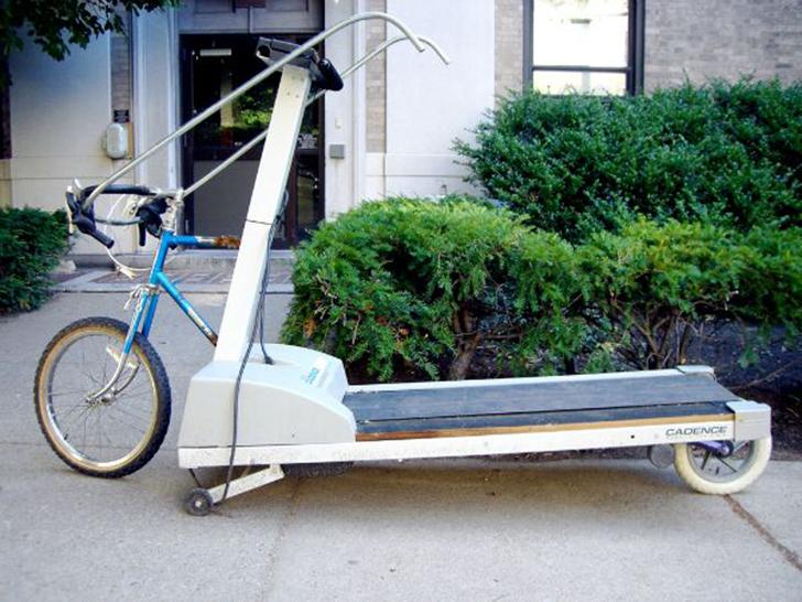 Предпочитаете бег велоспорту, но все равно любите иногда покрутить колеса? Тогда велосипед с беговой
