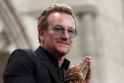 Лидер группы U2 Боно попал всписок «Женщина года» поверсии Glamour