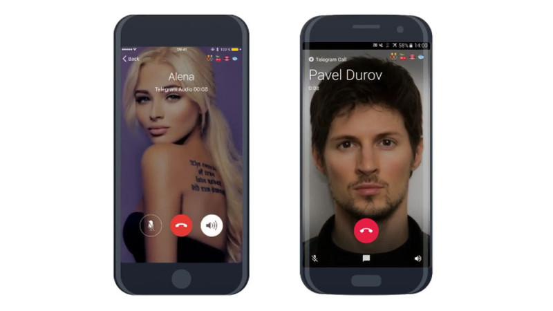 Вмессенджере Telegram возникла возможность звонить