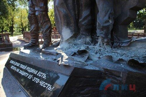 подорвали оккупантов луганск