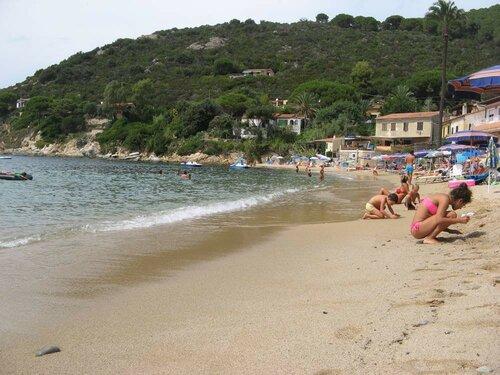 Пляж Форно, Италия, мои книги