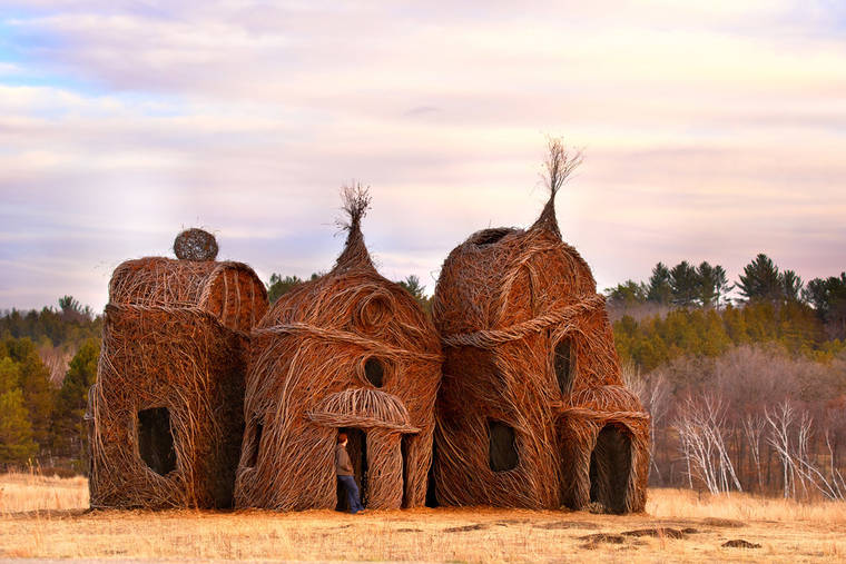 The impressive vegetal structures by Patrick Dougherty (20 pics)