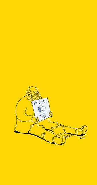Illustrations Humor By Eduardo Salles (17 pics)