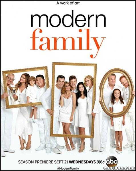 Семейные ценности / Американская семейка / Modern Family - Сезон 8, Серии 1-5 (24) [2016, WEB-DLRip | WEB-DL 1080p] (LostFilm)