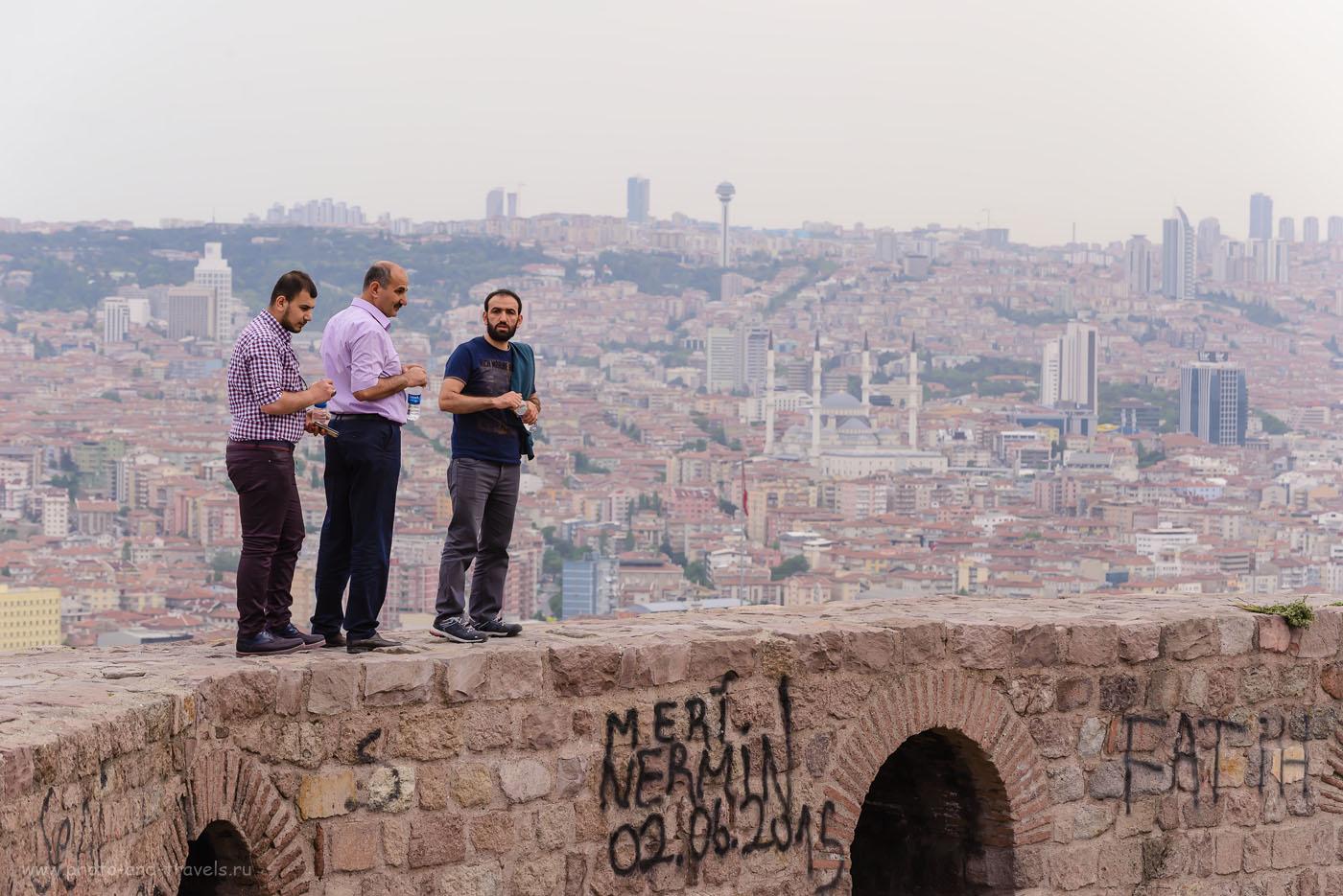 Фотография 27. Экскурсия на крепость в Анкаре.  Какие интересные места можно увидеть во время путешествия по Турции на машине? 1/160, +0,67, 7.1, 500, 102.