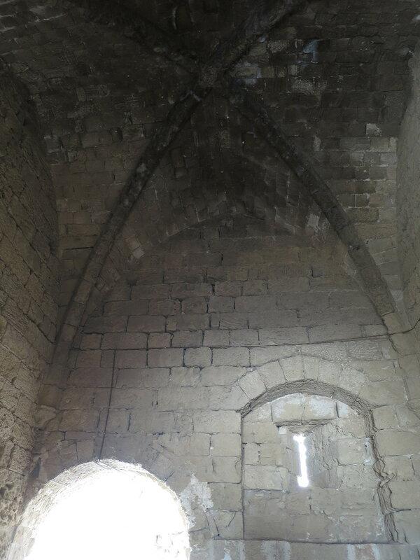 Фамагуста. Крепость. Свод юго-западной башни 1