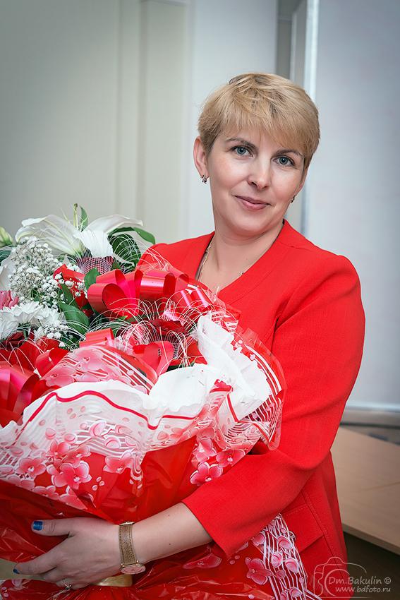 Это наш директор Илона Владимировна
