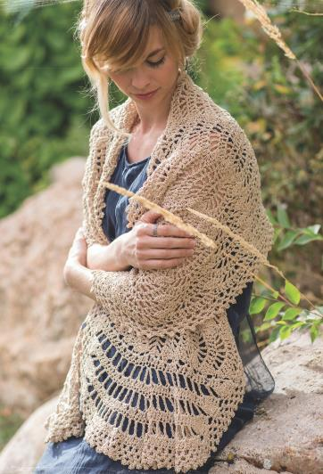 Шали, палантины и шарфы из журнала  «Poetic Crochet: 20 Shawls Inspired by Classic Poems»