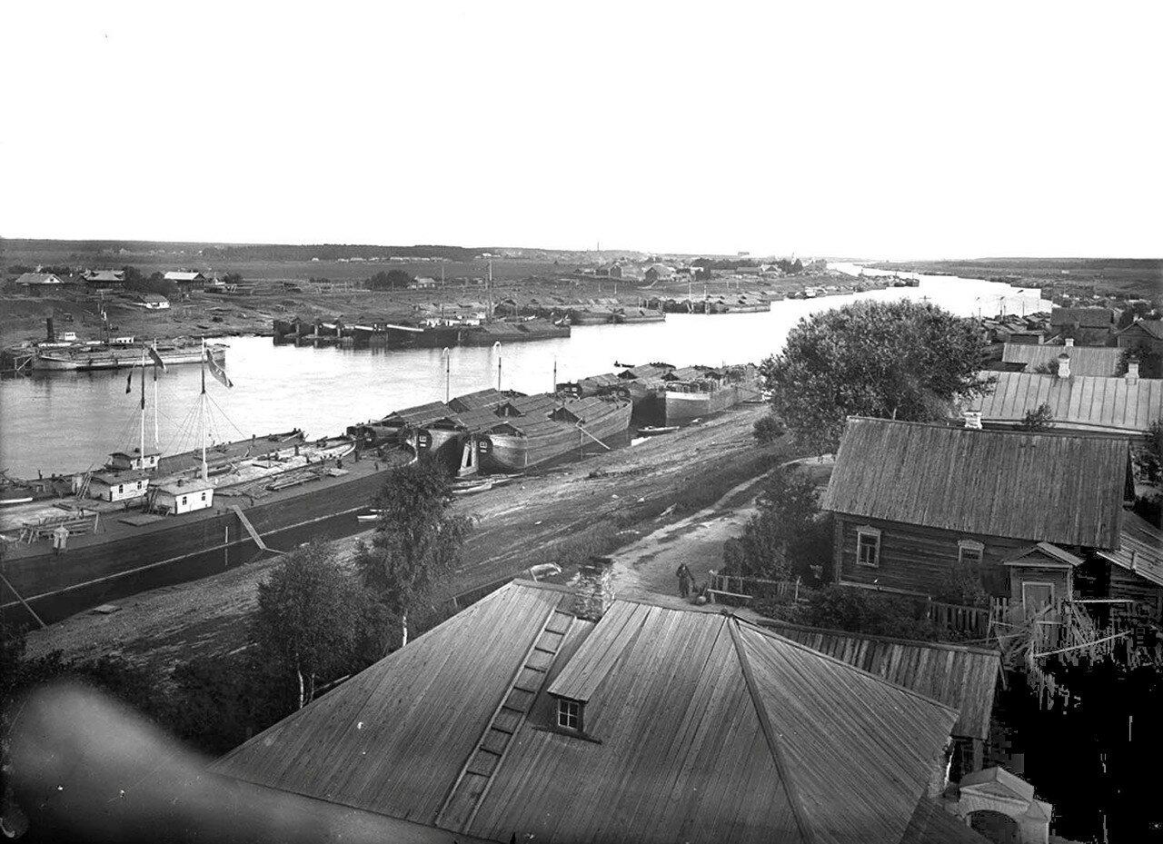 Общий вид реки Шексны