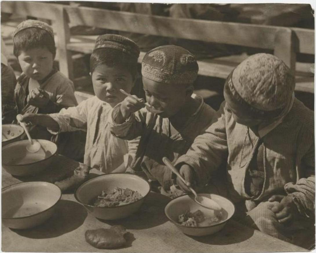 1921. Детский сад в Коканде