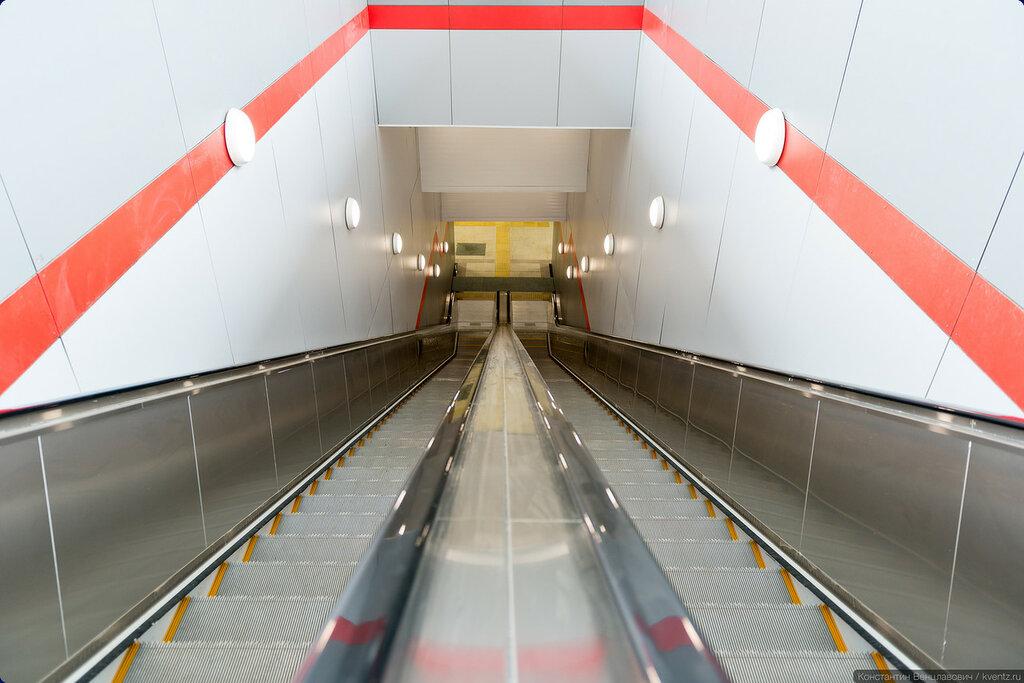 Эскалатор на станции Новохохловская