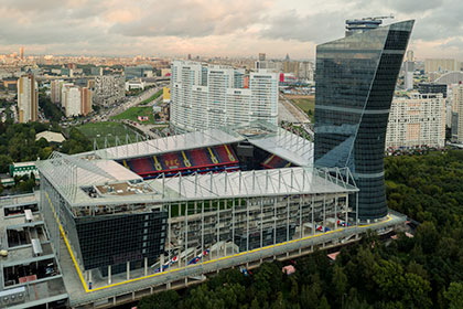 Страховка стадиона ЦСКА составила больше 15 миллиардов
