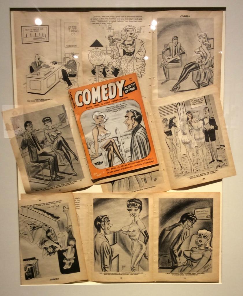 Билл Уорд иллюстрации к журналу Comedy 1948.jpeg