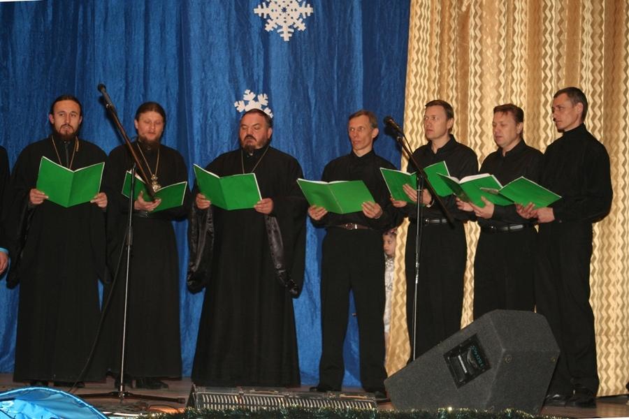 Хор священнослужителей храмов г. Алчевска