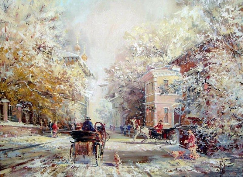Картины Павла Пеньковского