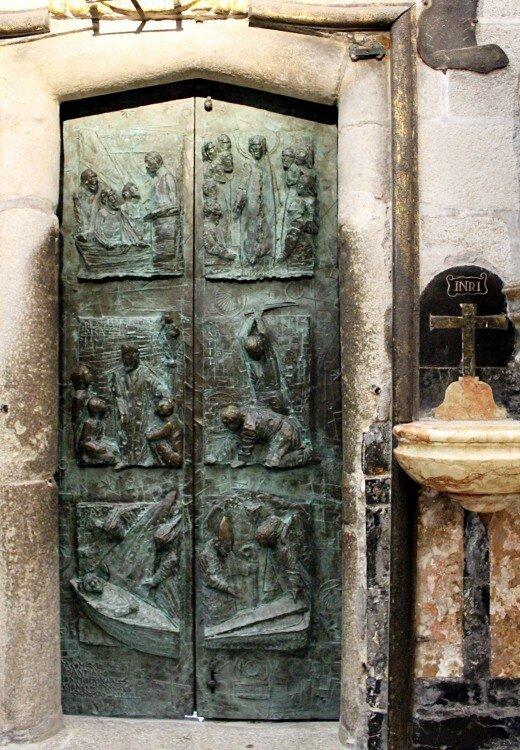 Сантьяго-де-Компостела. Собор Святого Иакова. Интерьеры