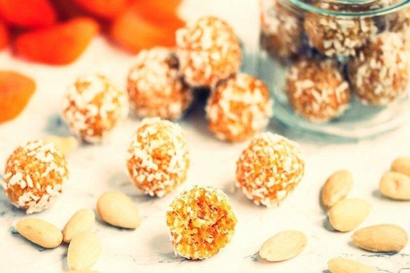 Вкусные ореховые шарики