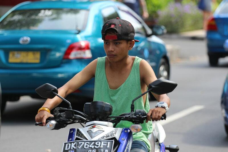 Авто, мото, вело, фото на Бали