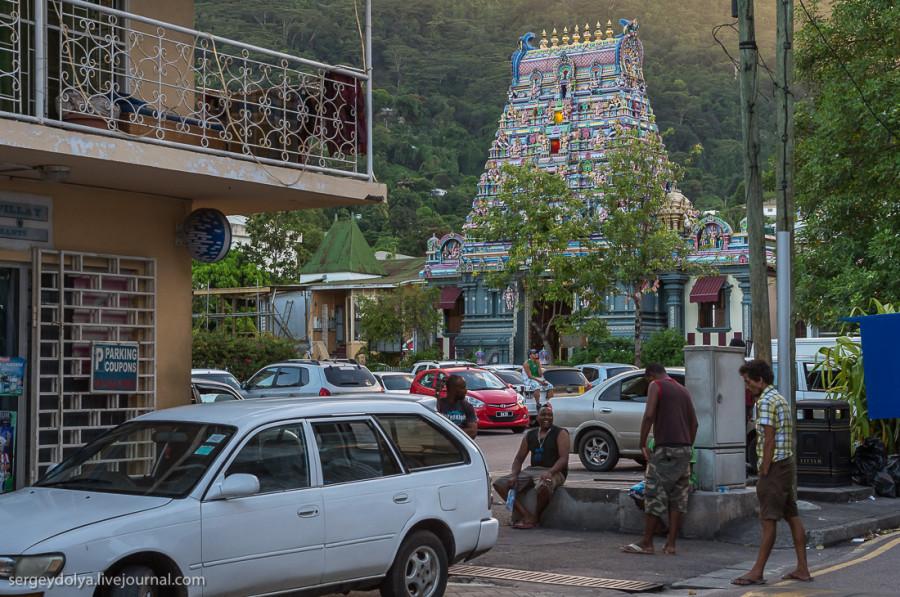 10. Индусский храм, красивый