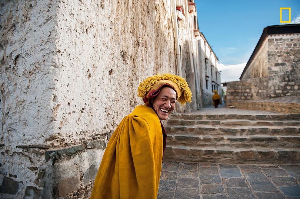 «Улыбка тибетской души». Маттиа Пассарини: «Этот монах мчался назад в свою комнату после дневной мол