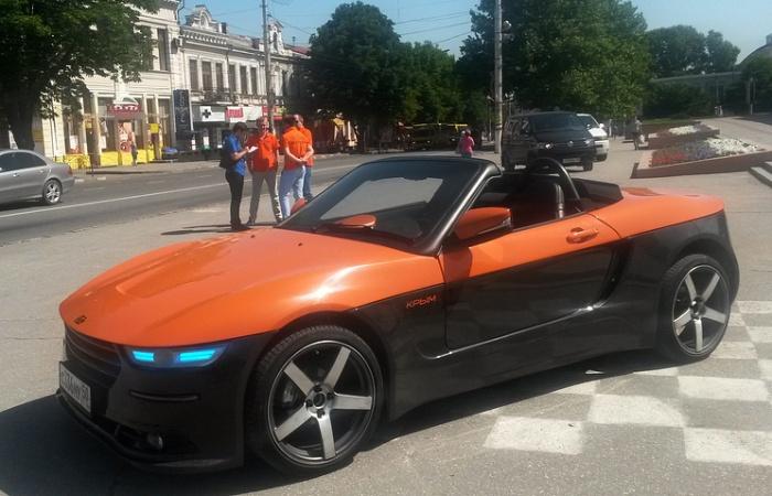 – BRT КРЫМ — это на 100% локализованный российский автомобиль . В нем нет импортных комплекту