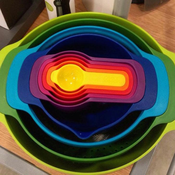 Что может быть приятнее, когда посуда идеально помещается одна в другую?