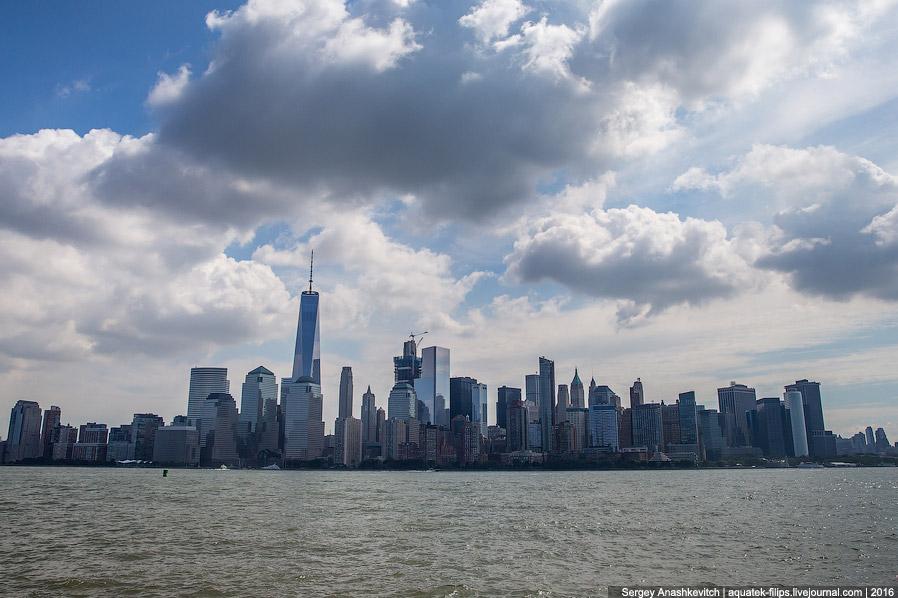 6. Вид на верхний Манхеттен. С этой точки он очень далеко и помогает только телевик.