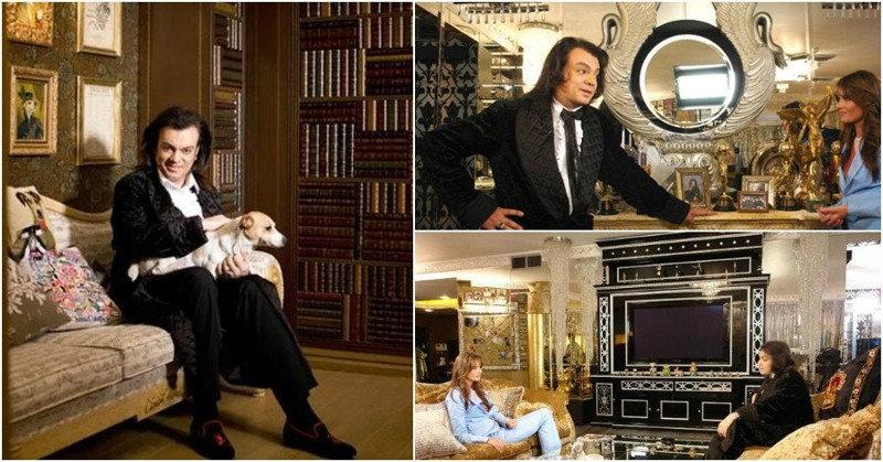 Каким может быть интерьер в квартире короля российской эстрады? Ну, конечно же — королевским! Пл