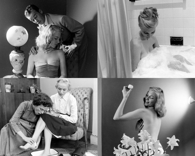 Представляем вашему вниманию подборку фотографий из архива американского журнала Life о буднях амери