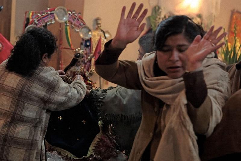 4. После смены одежды произносятся различные молитвы и заклинания.
