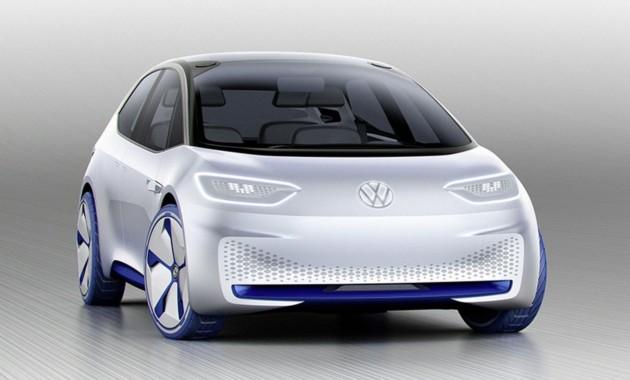 VW рассекретил внешний облик концепта I.D