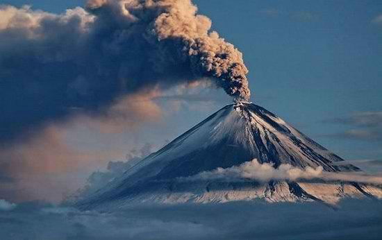 Крупнейшие извержения вулканов