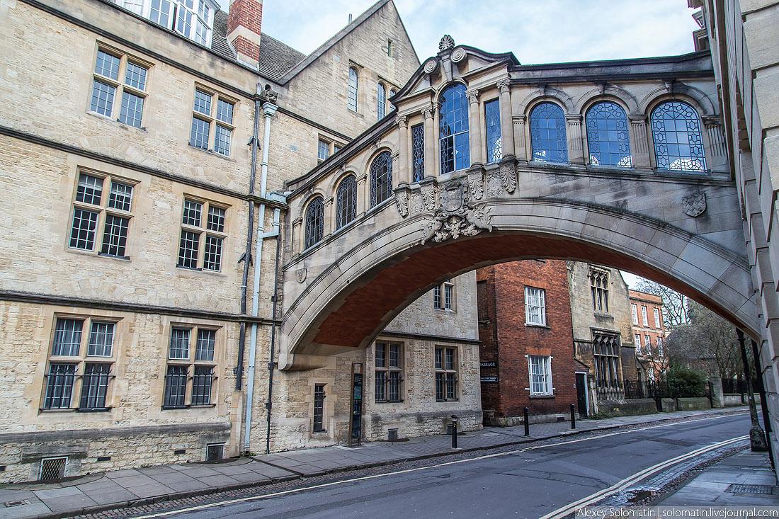 Оксфорд в рождественские праздники