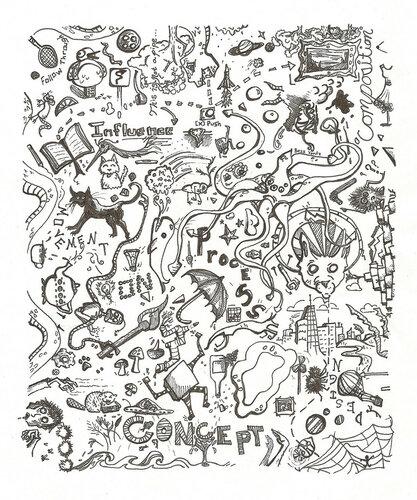 Дудлинг (Doodling), рисунок из Интернета