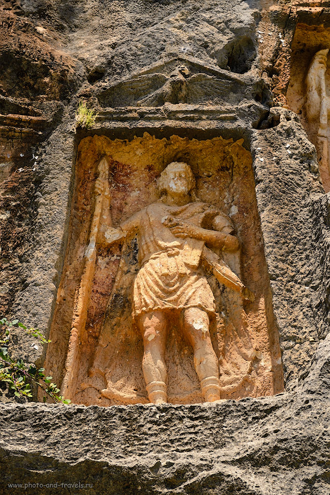 Фото 17. Римский воин в горах Турции. Отзыв об экскурсии в Adam Kayalar, что в окрестностях Кызкалеси. 1/500, 6.3, 320, 70.