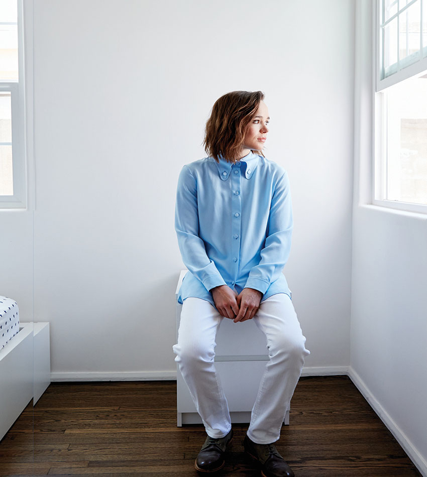 Ellen Page - Brooklyn Magazine (July-August 2016)